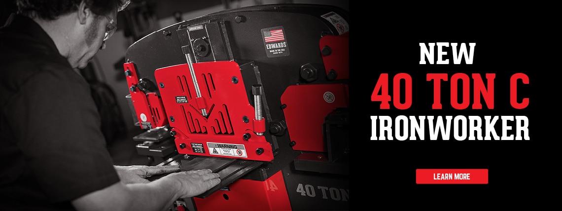 40 Ton C Ironworker
