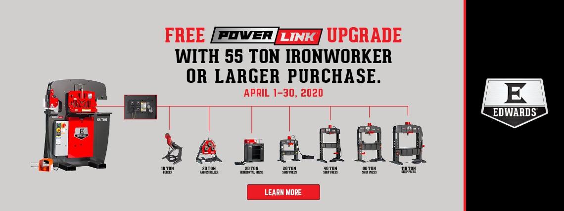 2020 Free PowerLink Upgrade